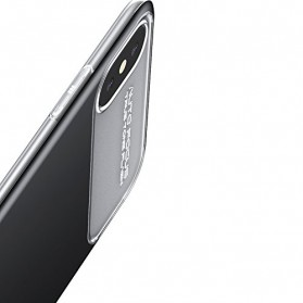 Baseus Slim Lotus Series Hardcase for iPhone X - Black - 3
