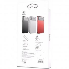 Baseus Slim Lotus Series Hardcase for iPhone X - Black - 5