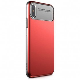 Baseus Slim Lotus Series Hardcase for iPhone X - Red