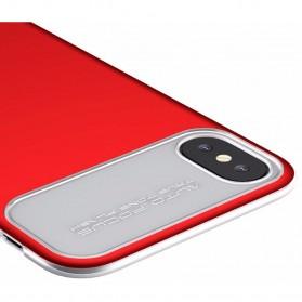 Baseus Slim Lotus Series Hardcase for iPhone X - Red - 3