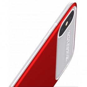 Baseus Slim Lotus Series Hardcase for iPhone X - Red - 4