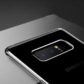 Baseus Anti Crack Slim Series TPU Case for Samsung Galaxy Note 8 - Black - 4