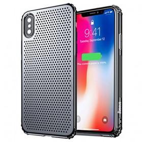 Baseus Small Hole Hardcase for iPhone X - Black