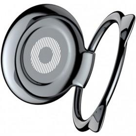 Baseus Cat Ear iRing Smartphone Holder - SUMA-01 - Black - 2