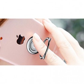 Baseus Cat Ear iRing Smartphone Holder - SUMA-01 - Black - 7