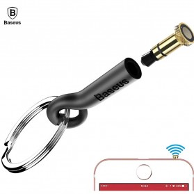 Baseus Smartphone Infrared Telecontrol Elves Red Nail - MIBASETERN-01S - Black/Silver - 2