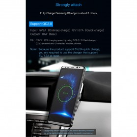 Baseus Magnetic Qi Wireless Car Charger - WXER-01 - Black - 6