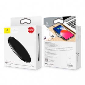 Baseus Leather Qi Wireless Charger - WXIX-01 - Black - 8