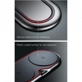 Baseus Two Seater Qi Wireless Charging Dock 10W - WXXHJ-A01 - Black - 6
