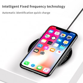 Baseus Simple Qi Wireless Charger Dock Fast Charge 10W - BSWC-P10 - Transparent - 2