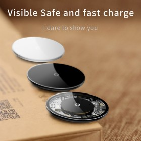 Baseus Simple Qi Wireless Charger Dock Fast Charge 10W - BSWC-P10 - Transparent - 5