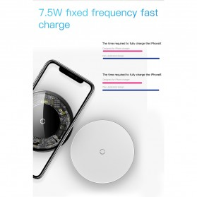 Baseus Simple Qi Wireless Charger Dock Fast Charge 10W - BSWC-P10 - Transparent - 6