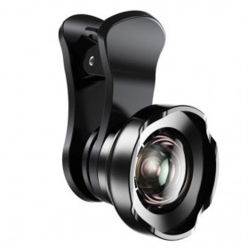 Baseus Lensa Camera Tik Tok 180 Degree for Smartphone - ACSXT-B01 - Black - 1