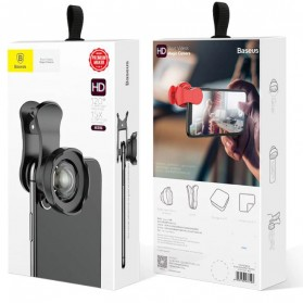 Baseus Lensa Camera Tik Tok 180 Degree for Smartphone - ACSXT-B01 - Black - 4
