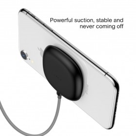 Baseus Suction Cup Wireless Charger - WXXP-01 - Black