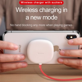 Baseus Suction Cup Wireless Charger - WXXP-01 - Black - 2