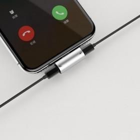 Baseus Converter Lightning Audio Splitter for iPhone 7/8/X/XS/XR - CAL46-01 - Black - 4