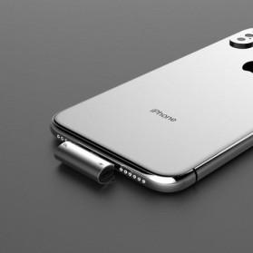 Baseus Converter Lightning Audio Splitter for iPhone 7/8/X/XS/XR - CAL46-01 - Black - 7
