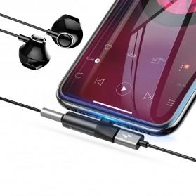 Baseus Audio Converter Lightning to 3.5mm AUX - CALL43-01 - Black - 2