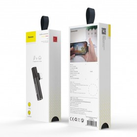 Baseus Audio Converter Lightning to 3.5mm AUX - CALL43-01 - Black - 8