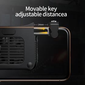 Baseus Gamepad Grip Trigger Aim L1 R1 PUBG with Cooling Fan - SUCJLF-01 - Black - 5