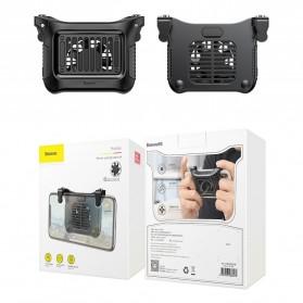 Baseus Gamepad Grip Trigger Aim L1 R1 PUBG with Cooling Fan - SUCJLF-01 - Black - 8