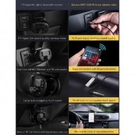 Baseus USB Bluetooth 5.0 Transmitter 3.5mm - CABA01-01 - Black - 7