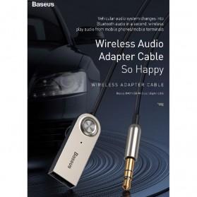 Baseus USB Bluetooth 5.0 Transmitter 3.5mm - CABA01-01 - Black - 9