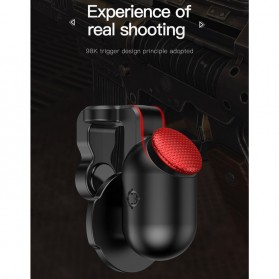 Baseus Tombol Grip Trigger Aim L1 R1 PUBG Battle Royale Game ACHDCJ-01 - Black - 2
