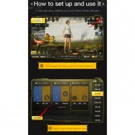Baseus Tombol Grip Trigger Aim L1 R1 PUBG Battle Royale Game ACHDCJ-01 - Black - 5