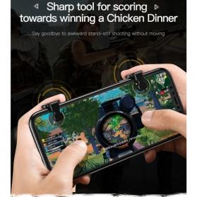 Baseus Tombol Grip Trigger Aim L1 R1 PUBG Battle Royale Game ACHDCJ-01 - Black - 8