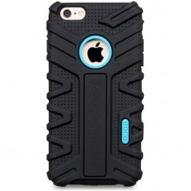 Hoco Transformer Armor Series Shockproof Silicone Case for iPhone 6 - Black