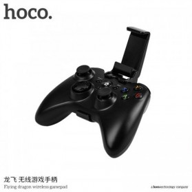 HOCO Flying Dragon Wireless Bluetooth Gamepad - Black - 4