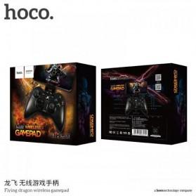 HOCO Flying Dragon Wireless Bluetooth Gamepad - Black - 9