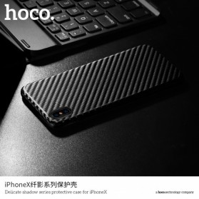 HOCO Delicate Shadow TPU Case for iPhone X - Black - 2
