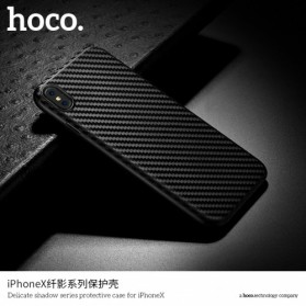 HOCO Delicate Shadow TPU Case for iPhone X - Black - 3