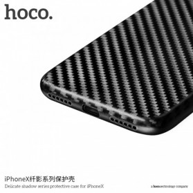 HOCO Delicate Shadow TPU Case for iPhone X - Black - 4