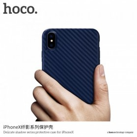 HOCO Delicate Shadow TPU Case for iPhone X - Black - 6