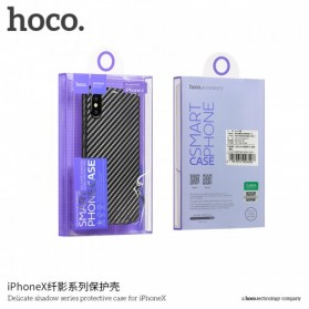 HOCO Delicate Shadow TPU Case for iPhone X - Blue - 7