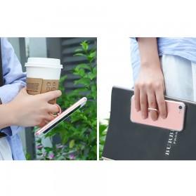 HOCO Anti Crack Metal iRing Case for iPhone 7 Plus / 8 Plus - Silver - 3