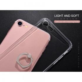 HOCO Anti Crack Metal iRing Case for iPhone 7 Plus / 8 Plus - Silver - 9