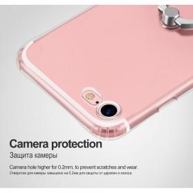 HOCO Anti Crack Metal iRing Case for iPhone 7 Plus / 8 Plus - Silver - 10