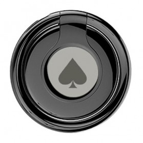 Hoco Poker Metal iRing Smartphone Holder - PH11 - Black