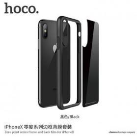HOCO Zero Point Series Hardcase for iPhone X - Black - 2
