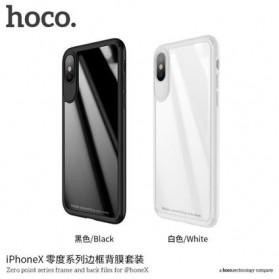 HOCO Zero Point Series Hardcase for iPhone X - Black - 3