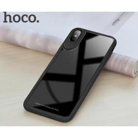 HOCO Zero Point Series Hardcase for iPhone X - Black - 4