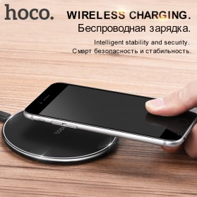 HOCO Qi Wireless Charger Dock 10W - CW6 - Black - 2