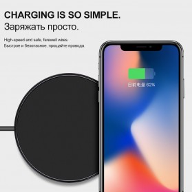 HOCO Qi Wireless Charger Dock 10W - CW6 - Black - 3