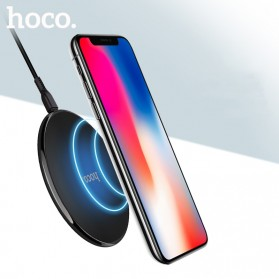HOCO Qi Wireless Charger Dock 10W - CW6 - Black - 6