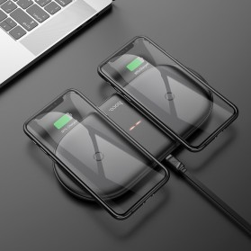 Hoco Qi Wireless Charger Fast Charging 10W - CW23 - Black